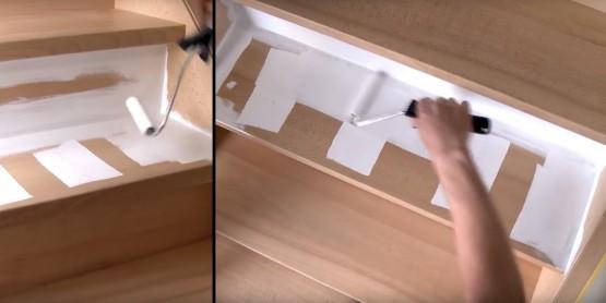 comment repeindre un escalier en bois prix moyen et. Black Bedroom Furniture Sets. Home Design Ideas